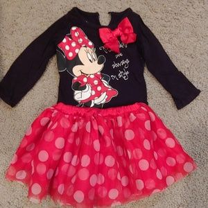 9 month Minnie Outfit